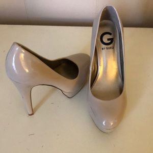 G by Guess Nude Stilettos
